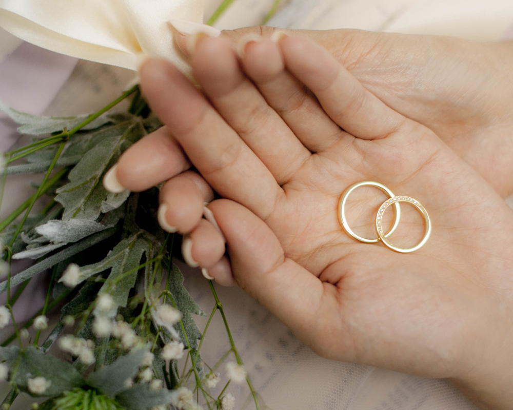 ~結婚指輪~ふたつ重ねて