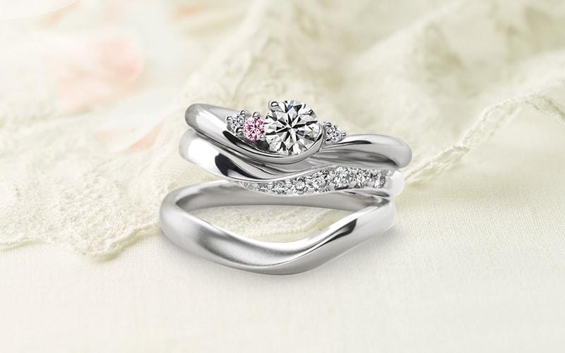 人気の婚約指輪『シェリール』